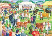 The House Of Puzzles - 500 BIG PIECE JIGSAW PUZZLE - County Show Big Pieces