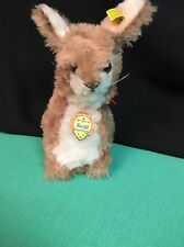 RARE VTG. STEIFF-ORIGINAL-MARKE  RABBIT WITH TAG's AND BUTTON 6156/20