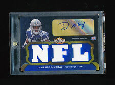 DEMARCO MURRAY 2011 TOPPS TRIPLE THREADS AUTO NFL JERSEY NUMBER #D 29/99 *EAGLES