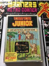 CBS Colecovision Retro Para Juegos Donkey Kong Junior en caja CIB