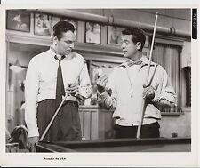 "HARRY LANGDON (US-Pressefoto '41) - in ""DOUBLE TROUBLE"" / POOL BILLARD"