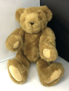 Authentic Vermont Teddy Bear Handmade Made in USA Jointed Movable Arms and Legs