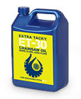 5 litres EXTRA TACKY CHAINSAW OIL Chain Oil Guide Bar 100cst 5L - NEXT DAY DHL