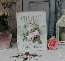 "~ ""Chateau London"" ~ Shabby Chic ~ Country ~ Cottage style ~ Wall Decor Sign ~"