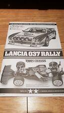 Tamiya lancia 037 rally manual 58654 ta02s