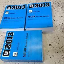 2013 Chevrolet Chevy Caprice Police Vehicle Repair Service Shop Manual Set NEW