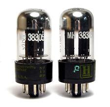2x Honeywell 12SN7GT Röhre / Audio Preamplifier Tube, Black Plate