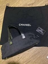 Black Chanel Sport Bag