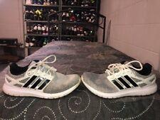 Adidas Energy Cloud Mens Running Training Shoes Size 10 White Black