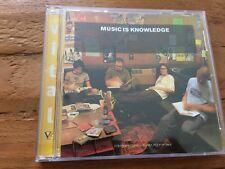 Music Is Knowledge Vital Compilation Rare Promo CD -Depeche Mode, Charlatans