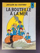 La bouteille à la mer Patrouille des Castors N° 5 Réed 1984 Mitacq