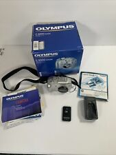 Olympus CAMEDIA C-5000 Zoom 5.0MP HD Digital Camera 3x Optical - Silver W Extras