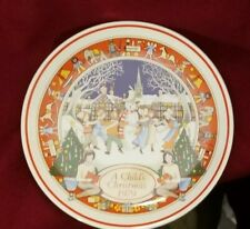 """A Child's Christmas 1979 Wedgwood 8""""Plate"""