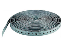 "100ft Roll Metal Hanger Strap Perforated Galvanized Steel 3/4""x100' MADE IN USA"