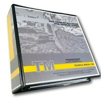 John Deere 550A 555A Crawler Bulldozer Loader Technical Service Manual 896 pgs