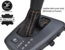 Tan Stitch Pelle Grana superiore automatico Ghetta Del Cambio si adatta VOLVO V70 XC70 04-07