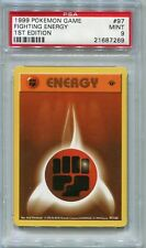 Pokemon Base Set 1st Edition Common Card #97/102 Fighting Energy