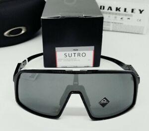"OAKLEY polished black ""PRIZM"" SUTRO OO9406-0137 sunglasses! NEW IN BOX!"