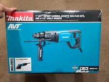Makita Hr2641x1 Sds Plus Avt Rotary Hammer With Case 4 12 Angle Grinder New