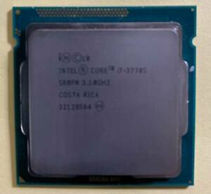 INTEL i7 CPU 3770s  3.10 ghz lga 1155 socket Ivy Bridge used tested OK