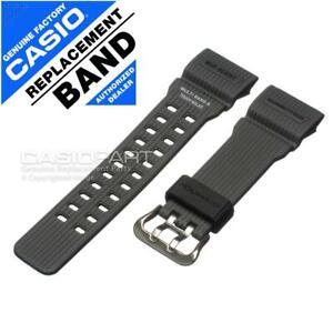 Genuine Casio Watch Band for Master of G-shock Mudmaster GWG-100-1A8 Grey Strap