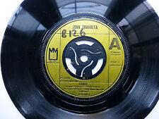 """JOHN TRAVOLTA SANDY / CANT LET YOU GO 1978 7"""" VINYL SINGLE."""