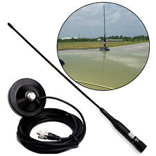 NL-R2 PL259 UHF VHF 144/430MHz Dual Band Male Ham Mobile Antenna Magnetic Mount