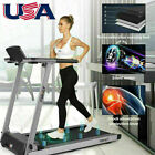 Folding Treadmill Portable Electric Motorized Running with Incline Fitness Gift.