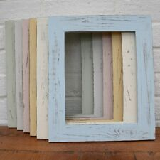 Handmade Photo/Picture Frame Shabby Chic/Distressed/Vintage 6 Colours 8 Sizes