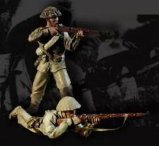 1/35 Resin Figure Model Kit Vietnam War Vietnamese Soldiers Unpainted Unassamble