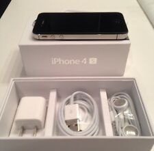 NEW APPLE iPhone 4S 32GB FACTORY UNLOCKED BLACK SMARTPHONE