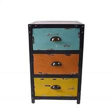 3 Drawers Industrial Standing Cabinet Storage Unit Locker Chest Cupboard Metal