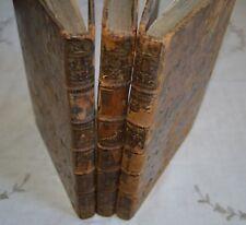 HISTOIRE MILITAIRE DU DUC DE LUXEMBOURG PAR DE BEAURAIN ED B. GILBERT 1756 3VOL