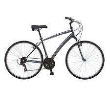 Schwinn Network 1.0 700c Mens 18 Hybrid Bike,18-Inch/Medium,Grey- S4024D Cycles