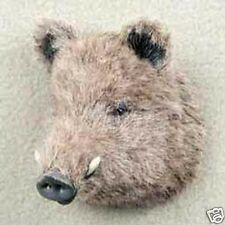 (3) DIFFERENT LITTLE  PIGS; WHITE, BLACK & A RAZOR BACK HOG! COLLECTABLES! Lot 2