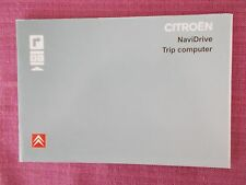 Citroen Navidrive Sat Nav Navigation & Audio Handbook C3 C4 PICASSO C5 ACQ 5281+
