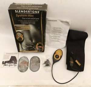 SLENDERTONE System Abs Spare Parts Boxed Belt Controller, Sticky Pads Used