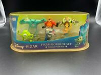Disney Pixar Figurine Set Mr. Incredible Woody Mike Sulley Buzz Lightyear Syndro