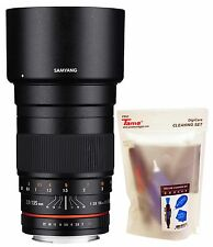 Samyang 135mm F2.0 ED Aspherical Telephoto Full Frame Lens for Sony E mount
