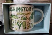 "NEW-Starbuck's ""Been There Series"" Washington State 14fl oz Mug in Box W/ SKU"