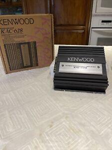 🔥🔥 Old School New Kenwood KAC-628 2-Channel 300W  Rare 🔥🔥🔥🔥
