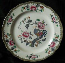 Antique/ vintage  Bishop & Stonier hand coloured Nankin Dinner plate {imperfect}