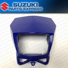 2002 - 2017 SUZUKI DR-Z DRZ 400S SM DR 200 650 OEM HEAD LIGHT COVER MASK BLUE