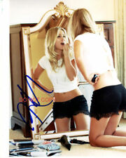 """Kaley Cuoco The Big Bang Theory Sexy Reprint Autographed 8x10"""" Photo #3 RP"""
