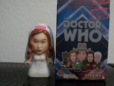Doctor Who Titans vinyl The Good Man Collection Amy Pond in Wedding Dress Figure
