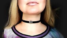 BDSM symbol submissive collar leather choker triskele triskelion necklace slave