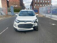 2017 Ford Ecosport Titanium 1.0, only 28K mls, driveaway, light damaged salvage
