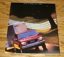 Original 1997 GMC Sierra Truck Sales Brochure 97 SL SLE SLT