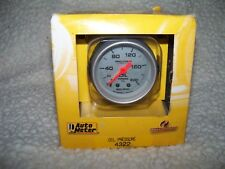 AutoMeter 4322 Ultra-Lite Mechanical Oil Pressure Gauge FREE SHIPPING