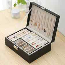 Boîte À Bijoux  Boîte De Rangement Espace Porte-Bijoux Boîte-Cadeau Velours